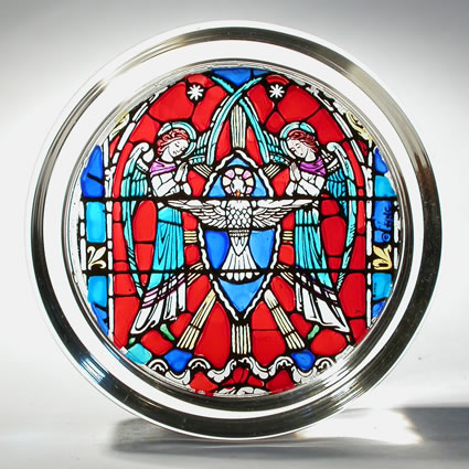 Paperweight - Angels with Holy Spirit - Washington National Cathedral