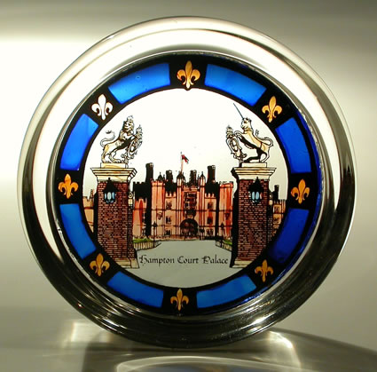 Stained Glass Paperweight - Hampton Court Palace