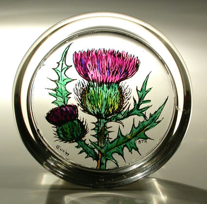 Paperweight - Thistle Scotland