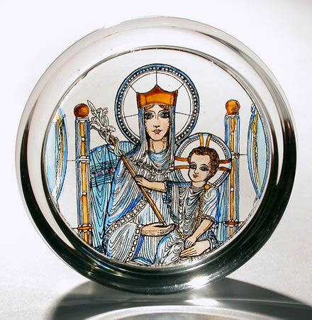 Westminster Cathedral - Our Lady of Walsingham paperweight